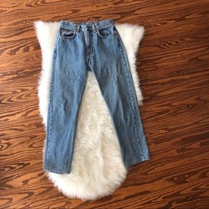 Vintage 1990s Calvin Klein Stone Washed Mom Jeans